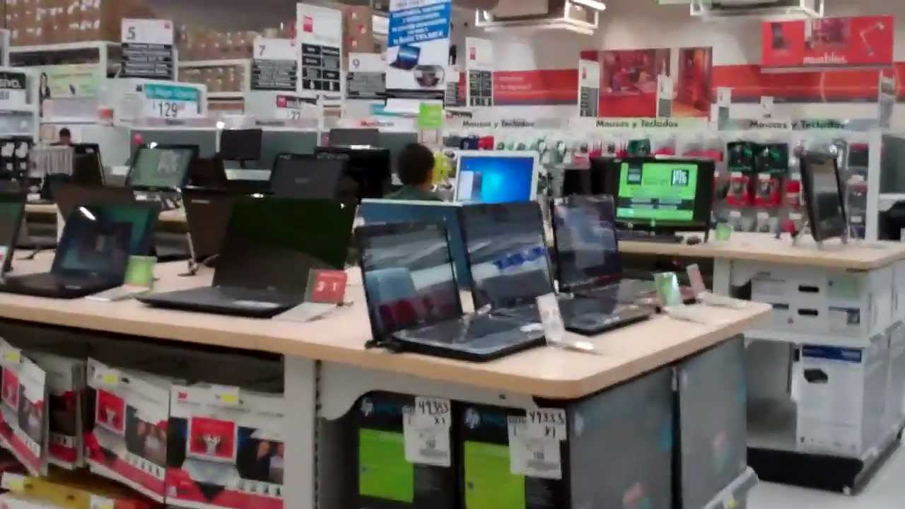 grand opening tour of office depot in iguala mexico youtube. Black Bedroom Furniture Sets. Home Design Ideas