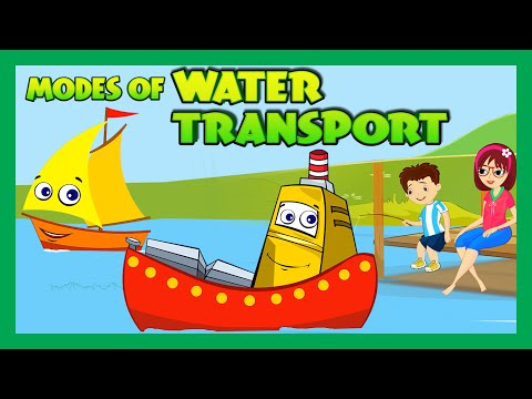 Modes of Transportation for Children - Water Transportation