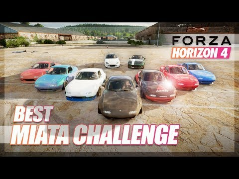 Forza Horizon 4 - Best MIATA Challenge! (Judged by Peachy Media) thumbnail