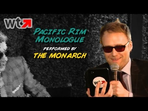 The Monarch (Jackson Publick) Performs Pacific Rim Apocalypse Speech (Comic-Con 2013)