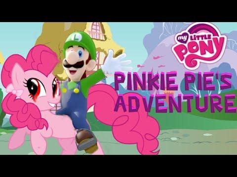 PINKIE PIE'S ADVENTURE - MY LITTLE PONY HORROR GAME - YouTube