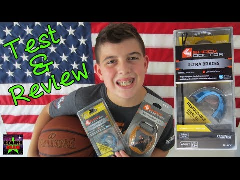 BEST SPORTS Mouth Guard for Braces! SHOCK DOCTOR We Open Apply Test Review
