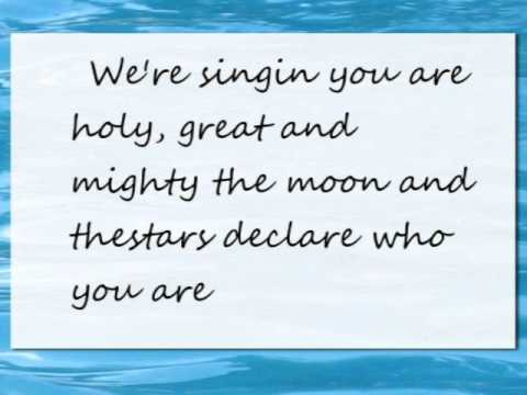 Cannons Phil Wickham Lyrics Youtube