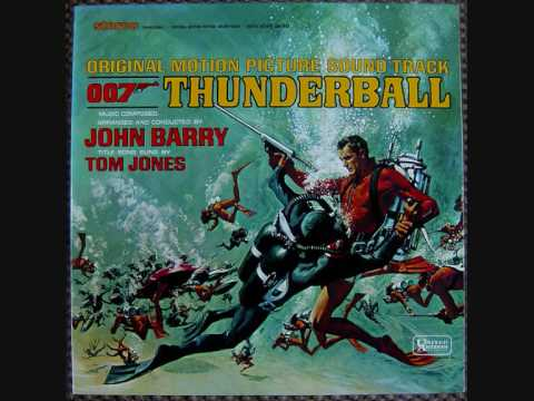 Thunderball OST - 13 - Gunbarrel - Traction Table - Gassing The Plane - Car Chase