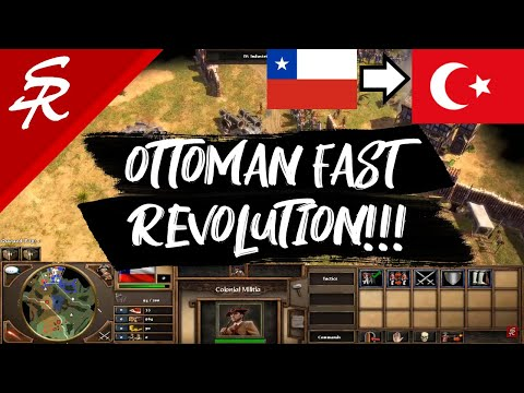 Ottomans Fast Revolution!! | Strategy School | Age of Empires III