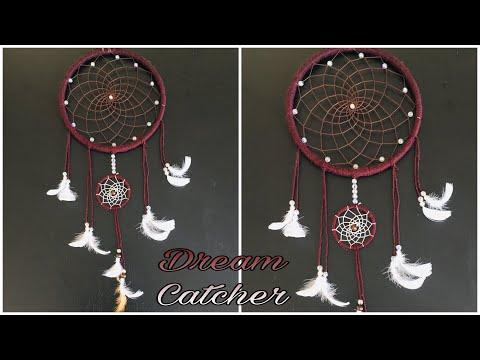 DIY Dream Catcher   How To Make Dream Catcher Step By Step Tutorial    Easy Dream Catcher with Beads