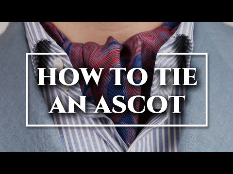 How to Tie an Ascot & Cravat 3 Ways + DO's & DON'Ts