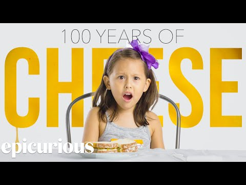 Kids Try 100 Years of Cheese