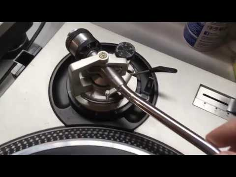buying a used technics sl 1200 tonearm issues youtube. Black Bedroom Furniture Sets. Home Design Ideas