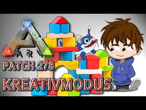 ARK im KREATIVMODUS • Der Creative Mode • Patch 278 • ARK Deutsch, German