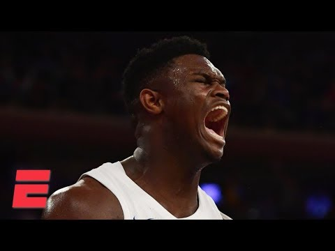 Zion Williamson, RJ Barrett carry Duke past Texas Tech at MSG | College Basketball Highlights