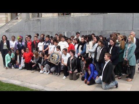 Visite de Genève par des élèves lyonnais (mai 2014)