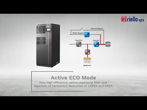 NextEnergy. Three-phase UPS by Riello UPS: the solution to reduce installation costs.