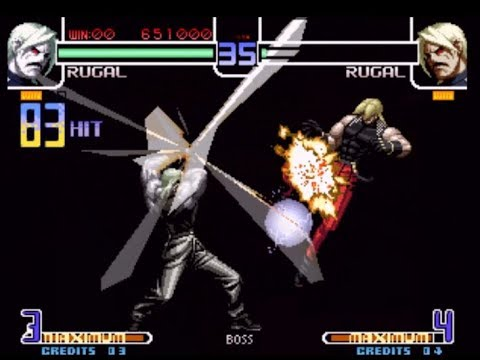 Tas The King Of Fighters 2002 Rugal Single Player Youtube