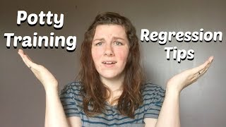 Potty Regression Tips