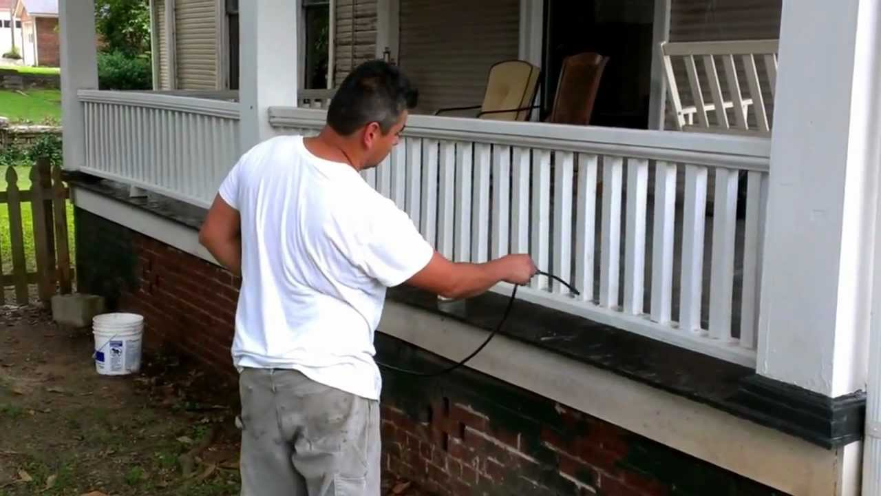 Exterior paint surface preparation diy youtube - Prep exterior walls for painting ...