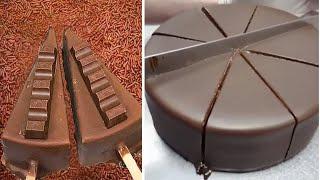 So Yummy Realistic Chocolate Cake Hacks   So Tasty White Chocolate Cake Decorating Ideas смотреть онлайн в хорошем качестве - VIDEOOO