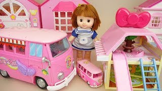 Baby doll camping car and house baby Doli camping play thumbnail
