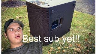 QSC KS118 unboxing!! | Best sub ever!!