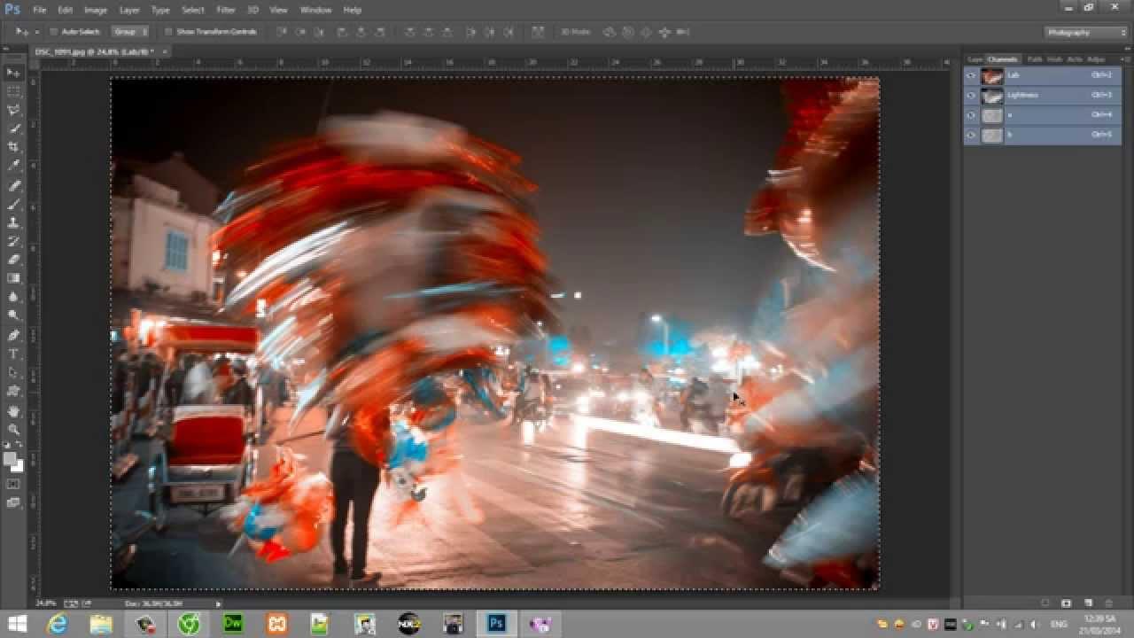 Giáo Trình Photoshop CC tiếng Việt EP5