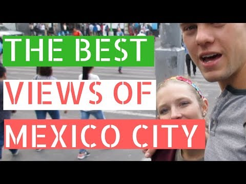 The Best Views of Mexico City (Torre Latinoamericana) // Gringos in Mexico City Vlog