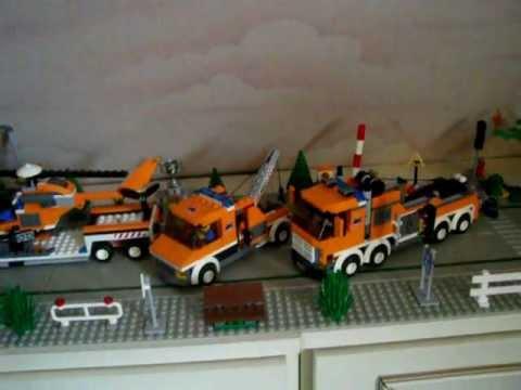 Lego 7686 + 7638 + 7642 towtruck - YouTube