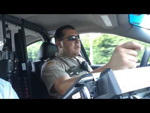 On patrol with THP Trooper Richard Conatser