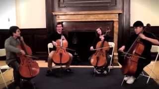 Moves Like Jagger by Maroon 5 for 4 Cellos - String Theory