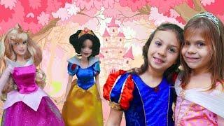 Elis ve Sabrina prenses oluyorlar