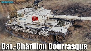 Мастер на Бураске ✅ Bat.-Châtillon Bourrasque World of Tanks