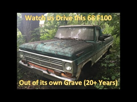 68 F100 Revival 20 Years Forgotten in the Woods Homebrew Roadkill  Thunderhead289 Style