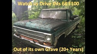 68 F100 Revival (20 Years Forgotten in the Woods) Homebrew Roadkill - Thunderhead289 Style