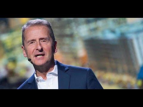Herbert Diess nommé à la tête de Volkswagen