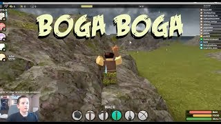 Roblox PLAYING BOGA BOGA!
