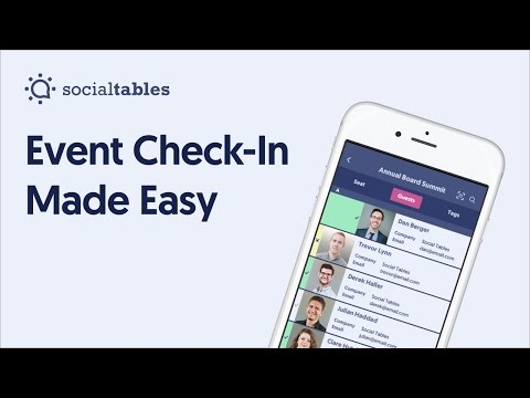 Event Check-In Made Easy with Social Tables