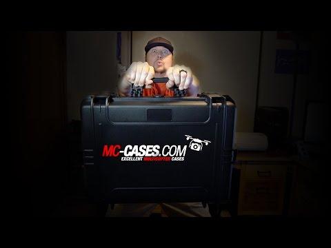 BEST Hard Shell Camera Gear Case! MC Cases Profikoffer MCC55