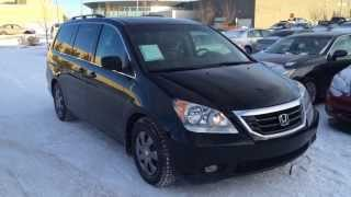 Pre Owned Black 2010 Honda Odyssey Touring Review Edmonton