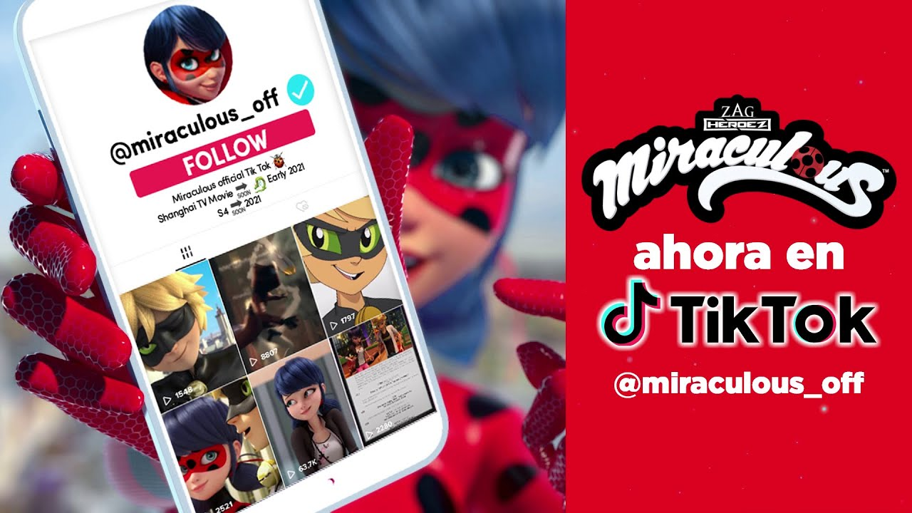 MIRACULOUS | 📲 AHORA EN TIKTOK 🐞 | Las Aventuras de Ladybug