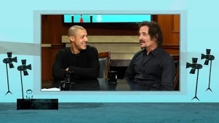 Sons of Anarchy: Theo Rossi and Kim Coates - Sneak Peek  | Larry King Now Ora TV