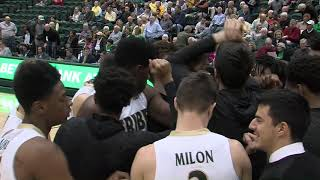 W&M Men's Basketball Players Post Game vs. Northeastern