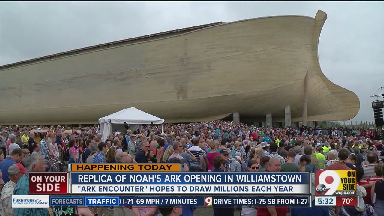 Replica Of Noah S Ark Opens In Williamstown Ky Youtube