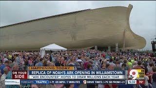 Replica of Noah's Ark opens in Williamstown, Ky.