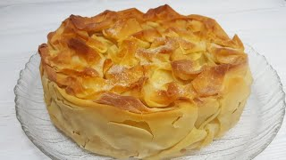 ВУАЛЬ НЕВЕСТЫ рецепт💐 ГАСКОНСКИЙ яблочный пирог от Джейми Оливера💐 ЯБЛОЧНЫЙ КРУСТАД💐apple pie
