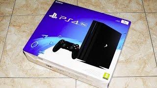 Распаковка PS4 Pro!