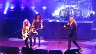 SAXON  -  Strong Arm of the Law (live in Toulouse 2018)