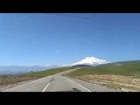 Дорога к Эльбрусу . Трасса Кисловодск - Джылы-Су
