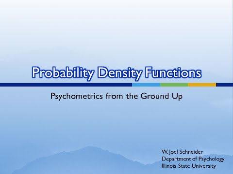 3. Probability Density Functions