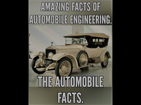 Amazing and Interesting facts of automobile engineering. knowledgepillar knowledge piller