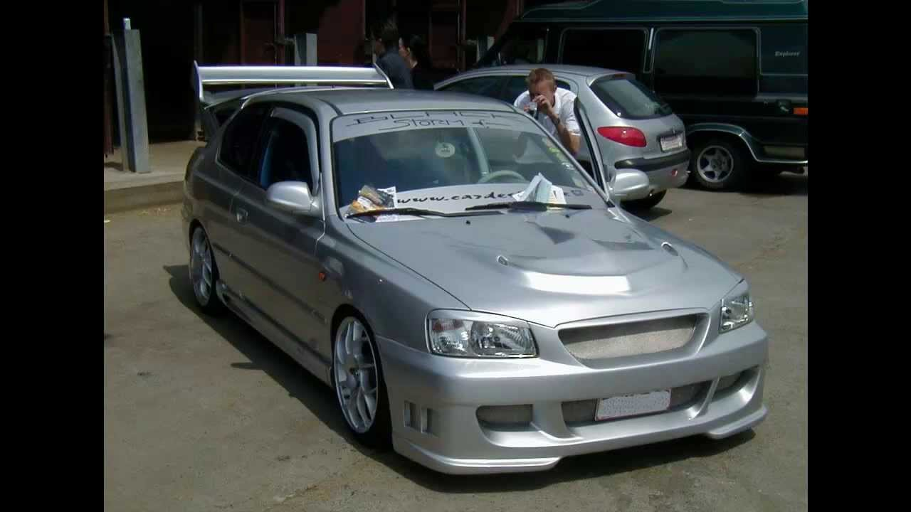 Hyundai Accent Tuning Youtube