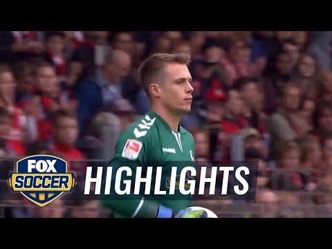 SC Freiburg vs. Eintracht Frankfurt | 2016-17 Bundesliga Highlights